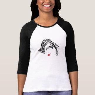 Der Bella der Trendy Frauen 3/4 Hülseraglan-T - T-Shirt
