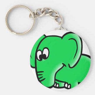 Der Berliner Elefant für die Hosentschen Standard Runder Schlüsselanhänger