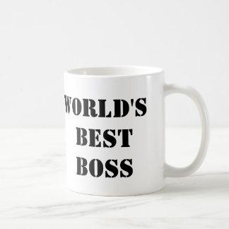 Der beste Chef der Büro-Welt Tasse
