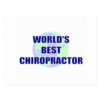 Der beste Chiropraktor der Welt Postkarte