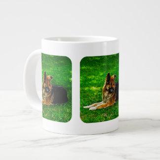 Der beste Freund #1 des Mannes Jumbo-Mug
