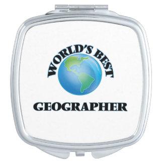Der beste Geograph der Welt Schminkspiegel