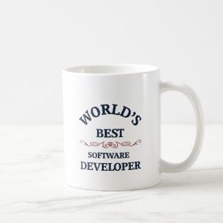 Der beste Softwareentwickler der Welt Kaffeetasse