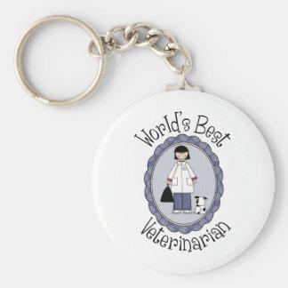 Der beste Tierarzt der Welt - Frau Schlüsselanhänger