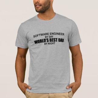 Der beste Vati der Welt - Software Engineer T-Shirt