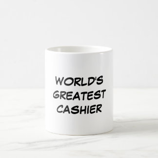 """Der bestste Kassierer-"""" Tasse """"der Welt"""
