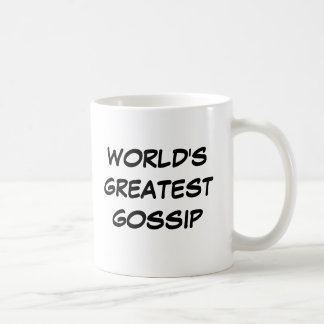 """Der bestste Klatsch-"""" Tasse """"der Welt"""