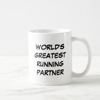 "Der bestste laufende Partner-"" Tasse ""der Welt"