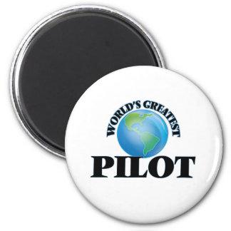 Der bestste Pilot der Welt Kühlschrankmagnete