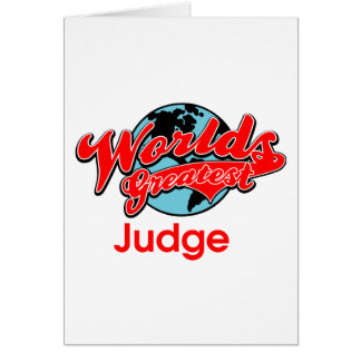 Der bestste Richter der Welt Karte