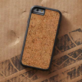 Der Blick des Macadamia-Korken-Knoten-Holz-Kornes Tough Xtreme iPhone 6 Hülle