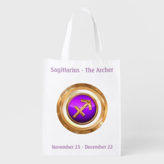 Der Bogenschütze - Schütze-Horoskop-Zeichen Wiederverwendbare Einkaufstasche