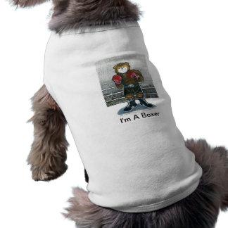 Der Boxer Ärmelfreies Hunde-Shirt