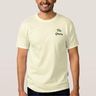 Der Bräutigam Besticktes T-Shirt