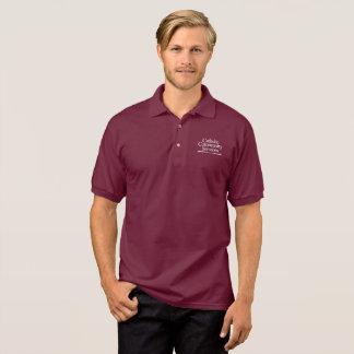 Der Burgunder-Polo CCS Männer Polo Shirt