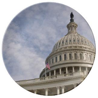 Der Capitol- HillGebäude in Washington DC Teller