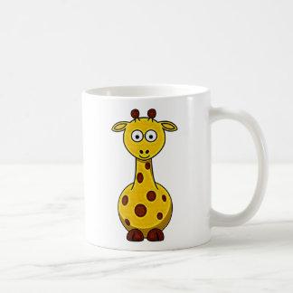 Der Cartoon-Giraffen-Tasse des Kindes Tasse