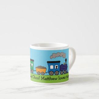 Der Choo Choo des Kindes Dampf-Zug-Tasse Espressotasse