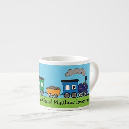 Der Choo Choo des Kindes Dampf-Zug-Tasse Espresso-Tassen