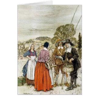 Der Compleat Angler, Illustration Arthurs Rackham Grußkarten