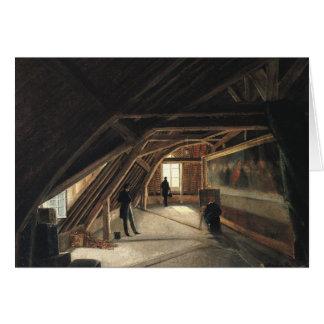 Der Dachboden eines Museums Karte