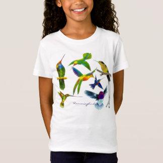 Der Designer-Mode Kolibris Birdlover Mädchens T-Shirt