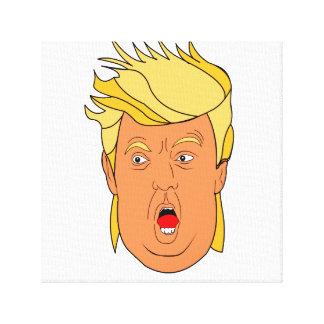 Der Donald Leinwanddruck
