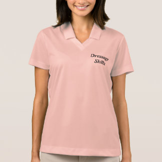 Der Dressage-Polo der Frauen Polo Shirt