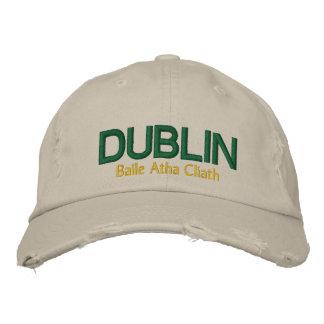 Der Dublin-Hut Bestickte Kappe