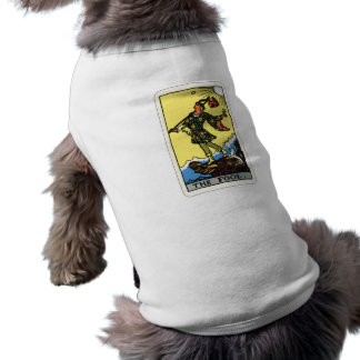 Der Dummkopf-HundeT - Shirt Ärmelfreies Hunde-Shirt