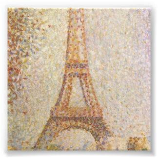 Der Eiffelturm durch Georges Seurat Kunst Fotos