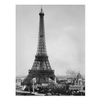 Der Eiffelturm Postkarte