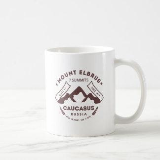 Der Elbrus Kaukasus Russland Kaffeetasse