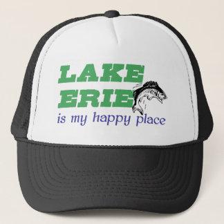 Der Eriesee ist mein glücklicher Platz Truckerkappe
