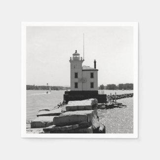 Der Eriesee-Leuchtturm Servietten