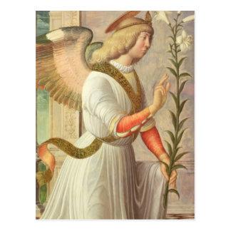 Der Erzengel Gabriel (Platte) Postkarte