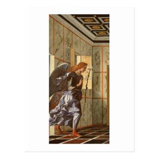 Der Erzengel Gabriel, von der Ankündigung dipty Postkarte