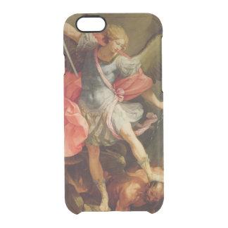 Der Erzengel Michael, der Satan besiegt Durchsichtige iPhone 6/6S Hülle