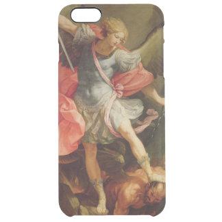 Der Erzengel Michael, der Satan besiegt Durchsichtige iPhone 6 Plus Hülle