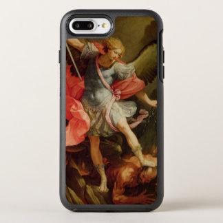 Der Erzengel Michael, der Satan besiegt OtterBox Symmetry iPhone 8 Plus/7 Plus Hülle