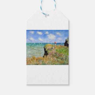 Der Felsen von Pourville von Claude Monet Geschenkanhänger