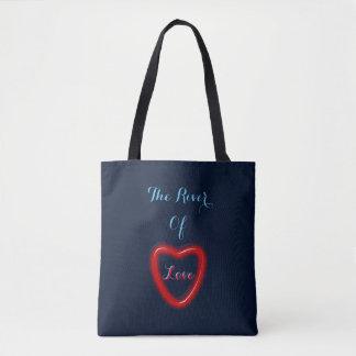Der Fluss der Liebe-Tasche
