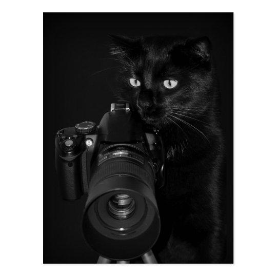 Der Fotograf  - Postkarte