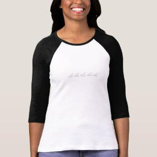 Der Frauen T-Stück der Raben-der Gruppen-3/4 Tshirt