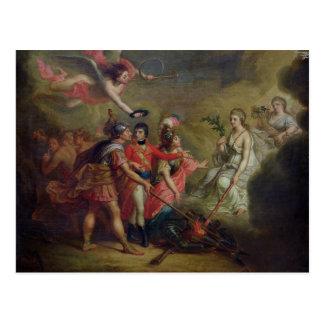 Der Frieden von Amiens, am 25. März 1802 Postkarte