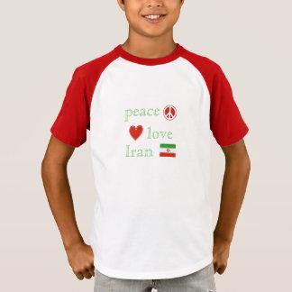 Der FriedensLiebe und -iran T-Shirt