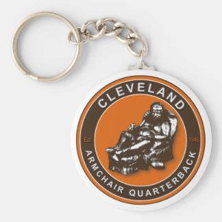 Der Fußball Keychain des Lehnsessel-QB Cleveland Schlüsselanhänger