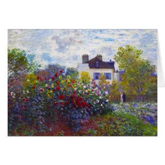Der Garten von Monet in Argenteuil Claude Monet Karte