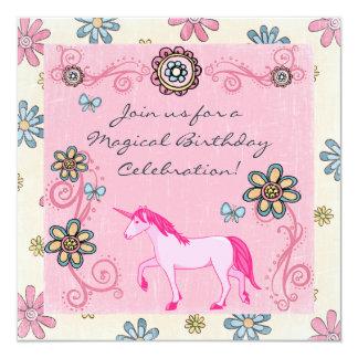 Der Geburtstags-Einladung des magischen Karte