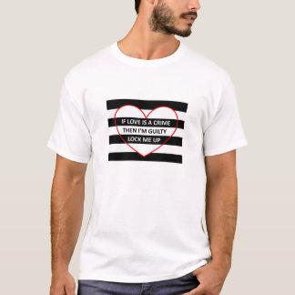 Der Gefangene der Männer des Liebe-T-Shirts T-Shirt